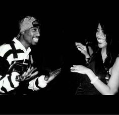 Aaliyah & Tupac. This pic breaks my heart. I miss them so much.