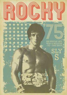 Rocky Balboa by Zoran Lucić Jackie Stallone, Frank Stallone, Sage Stallone, Stallone Rocky, Rocky Poster, Rocky Balboa Poster, Silvestre Stallone, Rocky Balboa Movie, Brigitte Nielsen
