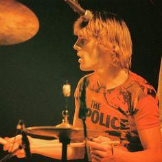 Stewart Copeland, the best drummer in the world.