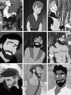 Disney Beards