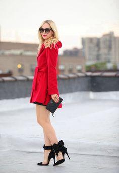 LOVE * red coat