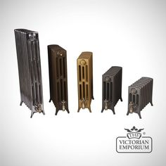 Buy Georgia radiator 4 column 960mm high, Victorian cast iron radiators - Our Georgia 4 column tall 960mm high cast iron radiators use a traditional Arts and Crafts design. We offer a large choice...