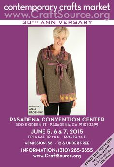 30th Year Celebration this coming June at the Pasadena Convention Center. Join us!