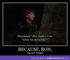 You're not in Twilight Ron