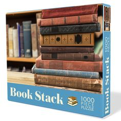 Check out this collection of jigsaw puzzles for avid readers and book lovers. Bring together the family and your friends with a bookish puzzle! Book Club Books, New Books, Puzzle 1000, Gifts For Readers, Stack Of Books, Book Lovers Gifts, Brighten Your Day, Jigsaw Puzzles, Book Stuff