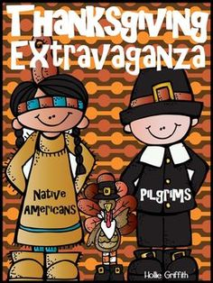 Thanksgiving Extravaganza: Native Americans, Pilgrims, & Turkey FUN {This literacy based extravaganza is jam packed with Thanksgiving FUN!! It includes Native American, Pilgrim, & Thanksgiving plans and activities that can be used throughout the ENTIRE month of November. You can use all of the unit plans, or pick and chose to fit your needs!}