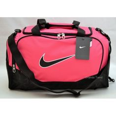 Nike Brasilia 5 Small Pink Duffel bag for gym 4b1200d59