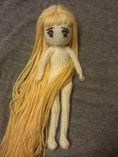 Amigurumi Hair Styles : CROCHET--DoLLs,ToYs, etc on Pinterest Amigurumi, Crochet ...