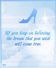 Weekly Affirmation: Keep On Believing | Disney Style