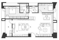 diseño de interiores planos