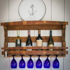 The Napa Valley Wine Rack is a beautiful piece of Home Decor Hand Made from Reclaimed Wood Wine Barrels and makes a perfect Custom Wall Decor Accent to any room. It measures Long by High Barrel Furniture, Antique Furniture, Modern Furniture, Furniture Design, Modern Interior, Interior Design, Napa Valley, Barrel Projects, Wood Projects
