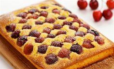Finis Feinstes - Rezepte - Fini´s Rezepte - Kirschkuchen (Süße Backstube)