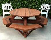Picnic Tables, Wooden Picnic Table,  http://www.foreverredwood.com/wooden-tables/wood-picnic-tables.html