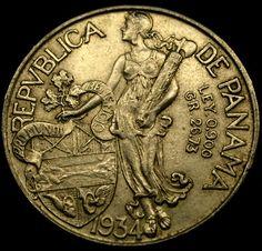 1934 PANAMA Balboa Large 90 Percent Silver Coin RARE!    http://www.ebay.com/itm/320843449973?ssPageName=STRK:MESELX:IT&_trksid=p3984.m1555.l2649