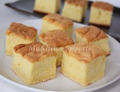 My Kitchen Snippets: Castella or Kasutera (Japanese Sponge Cake)