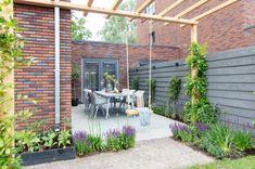 Garden Design Plans, Backyard Garden Design, Rooftop Garden, Backyard Landscaping, Rustic Gardens, Outdoor Gardens, Patio Plans, Pergola, Cozy Backyard