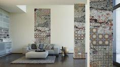 Architects Paper Fototapete 470176; simuliert auf der Wand