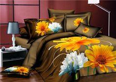 2017 New HD 3d bedding bed linens rose duvet cover set cotton polyester 3d bedding set queen bed set 4pc adult bedclothes purple