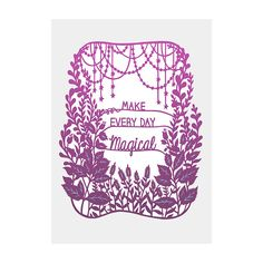 WE ARE MAGIC <3 <3 Papercut Illustration by SarahTrumbauer