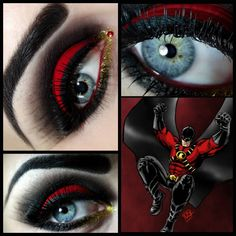 kikimakeup:Red Robin! The Darling Detective.