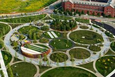 For the more than 10,000 people who work in the Navy Yard's office park, that means 74 acres of circular relaxation and recreation.