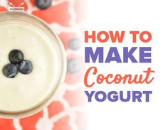 Need a new dairy-free breakfast? Blend up this sweet and creamy coconut yogurt and ferment in your oven for 24 hours for a quick, probiotic-filled snack! Allergy Free Recipes, Low Carb Recipes, Gluten Free Recipes, Coconut Yogurt, Coconut Cream, Dairy Free Probiotics, Dairy Free Breakfasts, Candida Diet Recipes, Breakfast Recipes