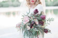 Lady At The Lake: Bridal Editorial » Fine Art Photography by Jessica Davies