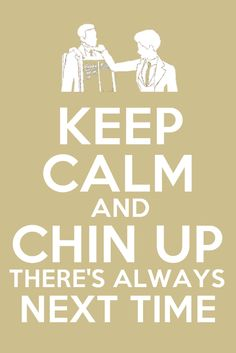 Keep Calm and Chin Up by ~xCharmCandyx on deviantART