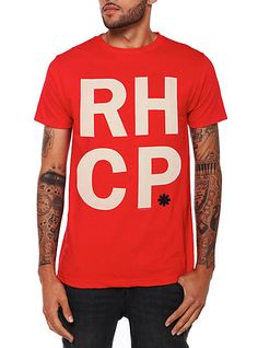 Red Hot Chili Peppers RHCP T-Shirt | Hot Topic