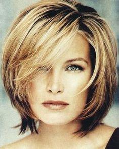 Medium Hairstyles For Women Over 40 : Medium Length Hairstyles ...