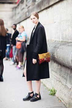 that all works. #HollyRoseEmery #offduty in Paris.