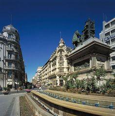Paseando por las calles del centro de Granada
