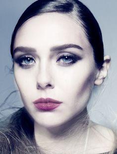 Elizabeth Olsen by Tom Munro for the December 2013 issue of Vogue Italia