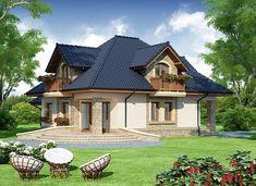 Damokles - zdjęcie 4 Roof Design, Design Case, Home Fashion, Modern House Design, Tiny House, Gazebo, Villa, Outdoor Structures, House Styles