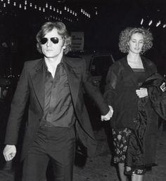 Mikhail Baryshnikov and Jessica Lange (via Old Loves Tumblr)