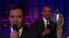 President Obama Slow Jamz the News with Jimmy Fallon and The Roots!