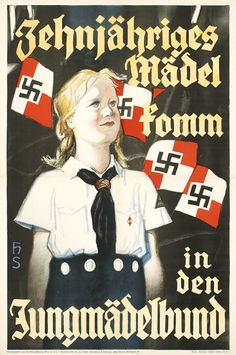 Hilterjugend propaganda poster
