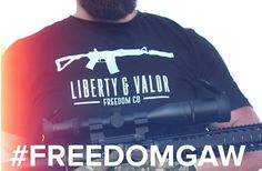 @Regrann from @liberty_valor -  You could be rocking this shirt plus a whole bunch of other great gear if you enter or giveaway. Get over to @801gun to get entered.  Here's the the prize cache:  @kak_industry shockwave blade kit @venomdefense mjolnir  billet grip @warmachinellc warblock gas block and decals @liberty_valor three shirts in your size  @dangerous_rae_ autographed magazine and picture @paracordslingsandthings convertible 2/1 point sling  @tamfamgram scar decal and custom XL your…