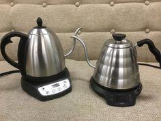 HARIOパワーケトル(温度調整機能付)とbonaVITA電気ケトルを徹底比較!コーヒーにはどちらがおすすめ?