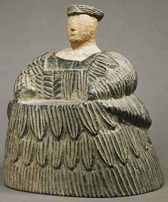 """ Composite female statuette Late 3rd or early 2nd millennium B Louvre """
