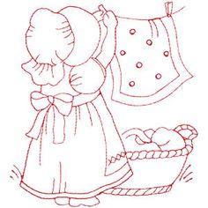 Redwork 2 - embroidery designs
