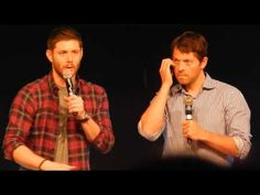 JIB Con 6 - Jensen & Misha Panel - Epic first 15min of panel where absolutely no question is asked! - YouTube