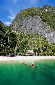Palawan, Philippines. SO happy to say I was born in this beautiful country :)