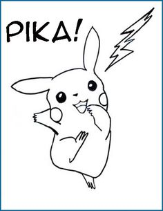 Little Pokemon coloring pages
