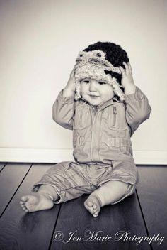Baby Aviator Hat with Googles...