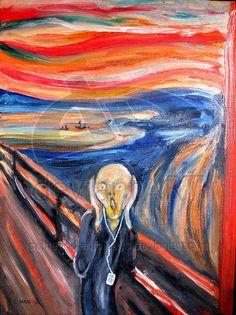 The_Scream_With_i_Pod_by_theancientofdays.jpg (400×534)