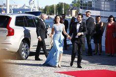 Queens & Princesses - Prince Carl Philip & Sofia Hellqvist's pre-wedding dinner on the island of Skeppsholmen.