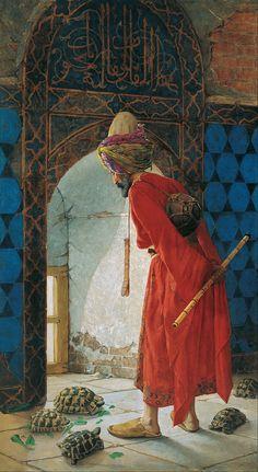 Tortoise charmer, Osman Hamdi Bey