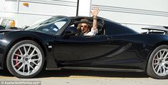 nice Steven Tyler driving off in his 1.1 million dollar Hennessey Venom GT Spyder...  Stars and their cars Check more at http://autoboard.pro/2017/2017/03/11/steven-tyler-driving-off-in-his-1-1-million-dollar-hennessey-venom-gt-spyder-stars-and-their-cars/