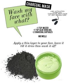 Charcoal cleans your skin like no other. Say bye to blackheads